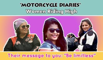 These Lady Biker Moms Are Redefining Motherhood With Their Adventure Biking