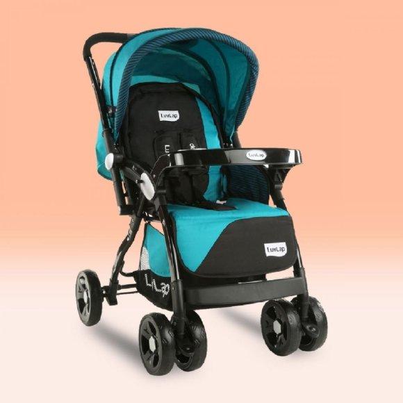 Stroller/Pram for babies - Blue stroller
