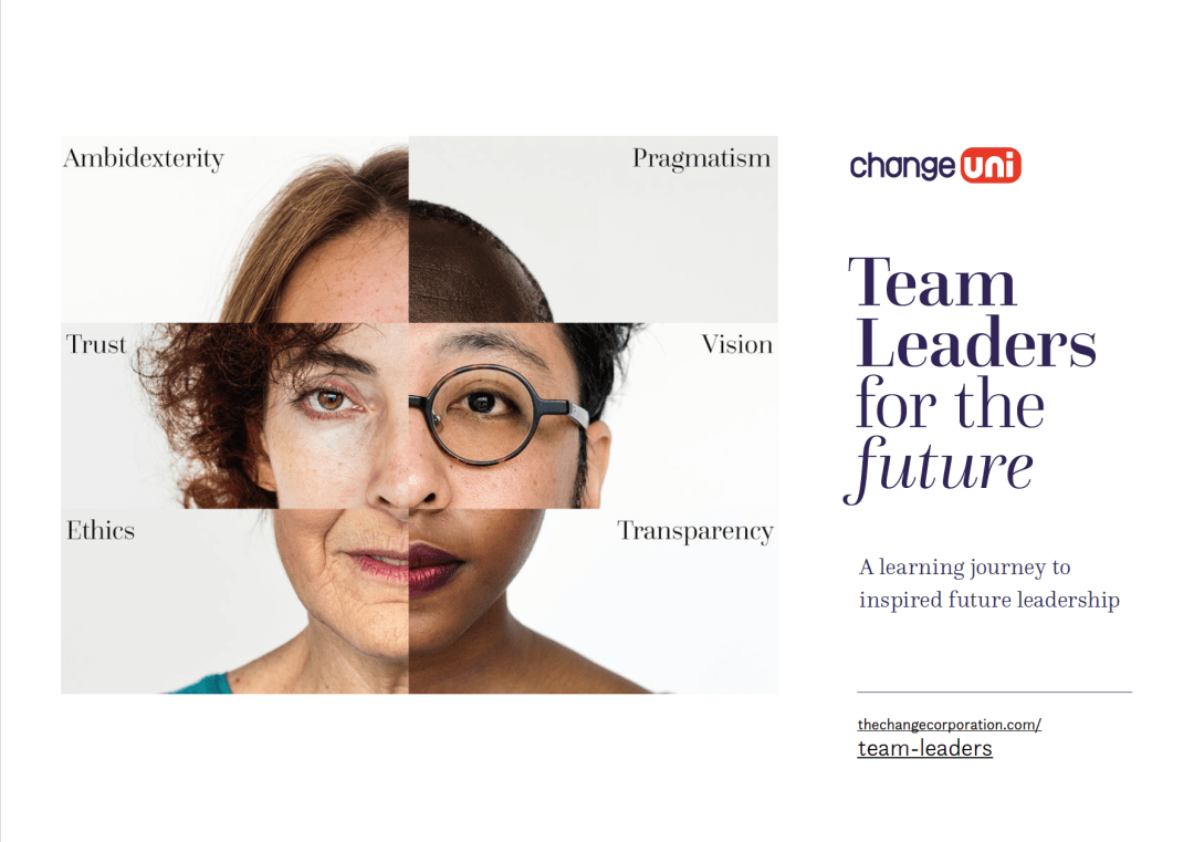 Download the Team Leaders for the future brochure