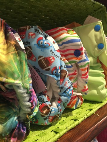 Tail Feathers diapers