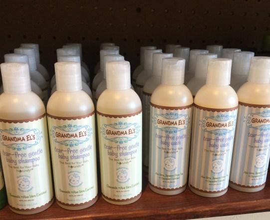 Grandma El's skin care for babies
