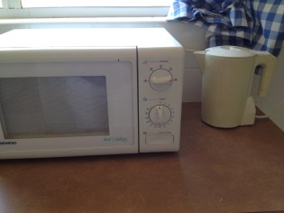 and antiquated appliances!