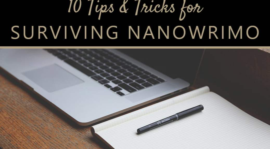 Tips for NaNoWriMo