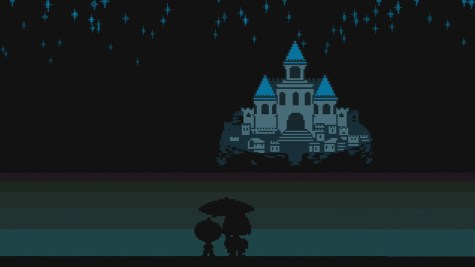 Undertale- Reading this review fills you with determination
