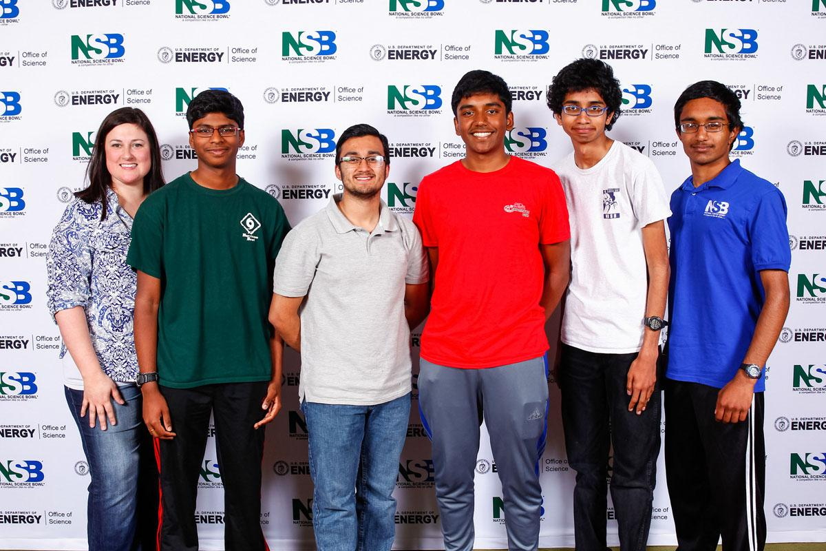 (Photo Courtesy of The U.S. Department of Energy (DOE) National Science Bowl®)