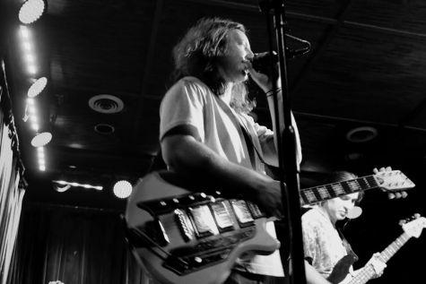 Delta Springs singer Sam Stevens performs at Proud Larry's on Sept. 2.