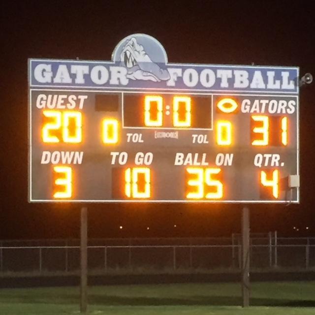 The+scoreboard+at+Lake+Cormorant+High+School+hits+zero%2C+reflecting+the+game%27s+outcome.