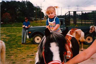 English Teacher Amanda Witt always dreamt of having a horse, and at the end of the fifth grade, when she moved, that dream came true. Her horse Patchy was an Appaloosa..