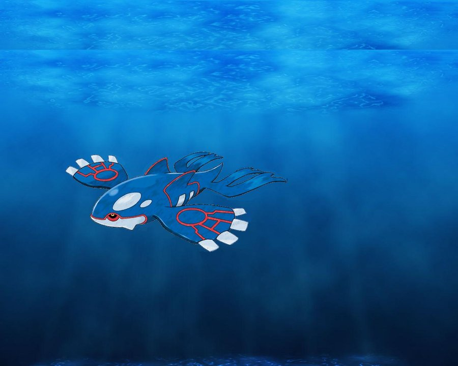 Too Much Water – Primal Kyogre EX and Friends