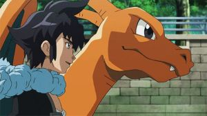 Alan and his Charizard!