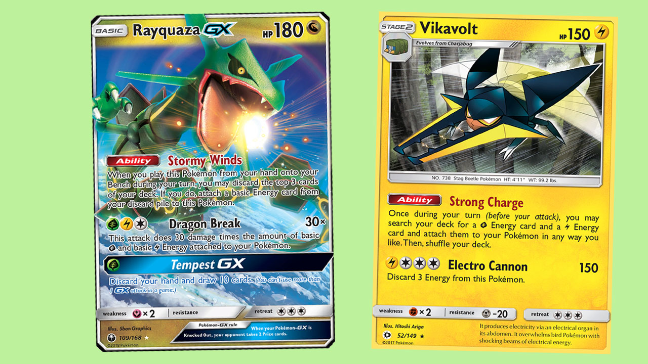 Rayquaza GX / Vikavolt – The Early Season BDIF – The