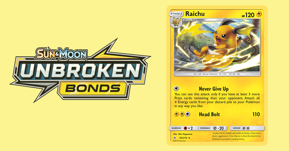 Unbroken Bonds Set Review – Lightning Pokemon