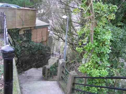 3. As I went down Zig Zag/The clock striking one,/I saw a man cooking/An egg in the sun. From As I went down Zig Zag. Zig Zag is the name of a steep footpath in Launceston. It linked the town to the railway stations.