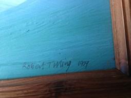 Detail, Bob Tilling's signature