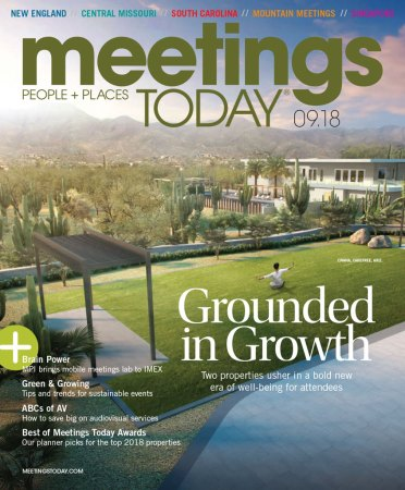 Meetings Today - September 2018 - cover