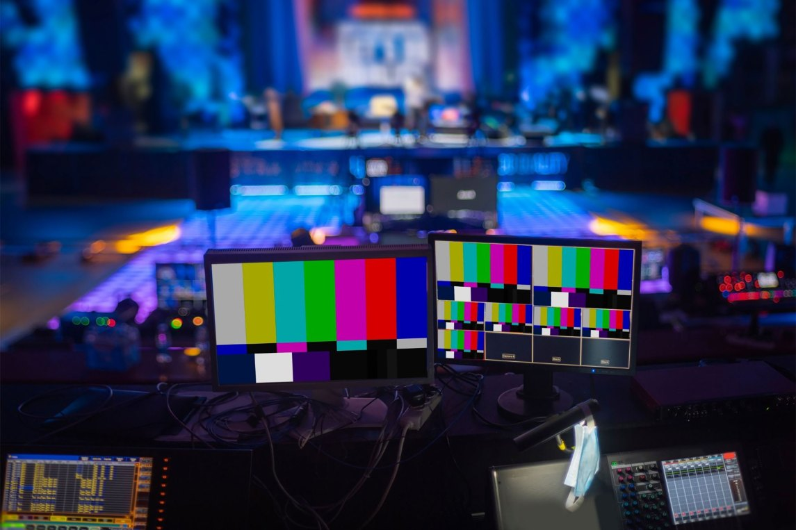 behind the scenes of a virtual event
