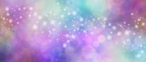 Beautiful multicolored sparkly website header