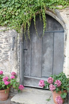 Door into an old castle or farmhouse. Etsy for fine artists article.