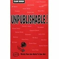 Cover of Unpublishable! Book by Borish, 5 best books on writing for artists post