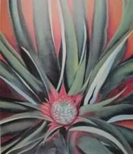 """""""Pineapple Bud"""" by Georgia O'Keeffe. 1939."""