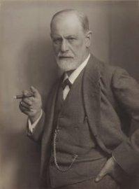 Max Halberstadt's photo of Sigmund Freud circa 1921