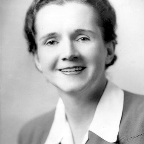 Rachel Carson's official emloyee photo of The U.S. Fish and Wildlife Service, 1940