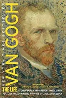Book cover for Van Gogh The Life wherein the authors bust the myth of the Van Gogh suicide.