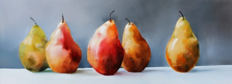 pear painting for art writing post