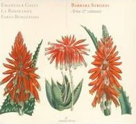 Album cover of the work of composer Barbara Strozzi, featuring plant drawings