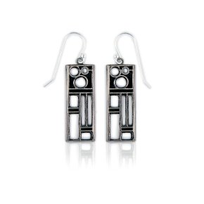 Art deco earrings by the queen of wholesaling to museum stores, the lovely Evelyn Pelati