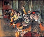 The Chorus by Degas