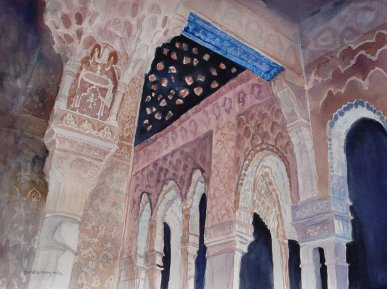 watercolor of the Alhambra for How to Fail Brilliantly post