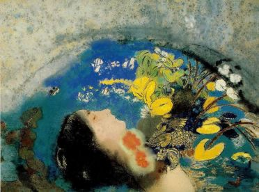 meditation for artists, Ophelia floating by Redon