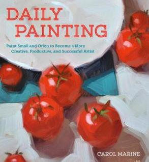 A book to teach you how to do one painting a day,