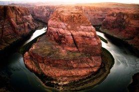 Glen Canyon area where O'Keeffe's stone was found
