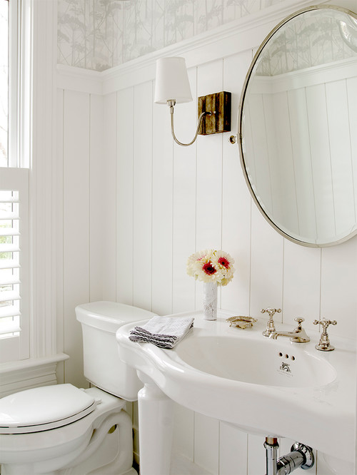 10 Pretty Powder Rooms | The Charming Detroiter