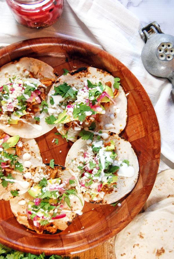 Shredded chicken taco recipe food network
