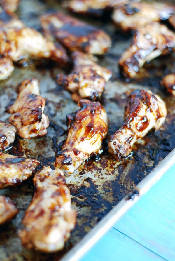 Spicy Parmesan Barbecue Chicken Wings: Your favorite barbecue chicken wings get kicked up a notch with a spicy dry finishing rub.