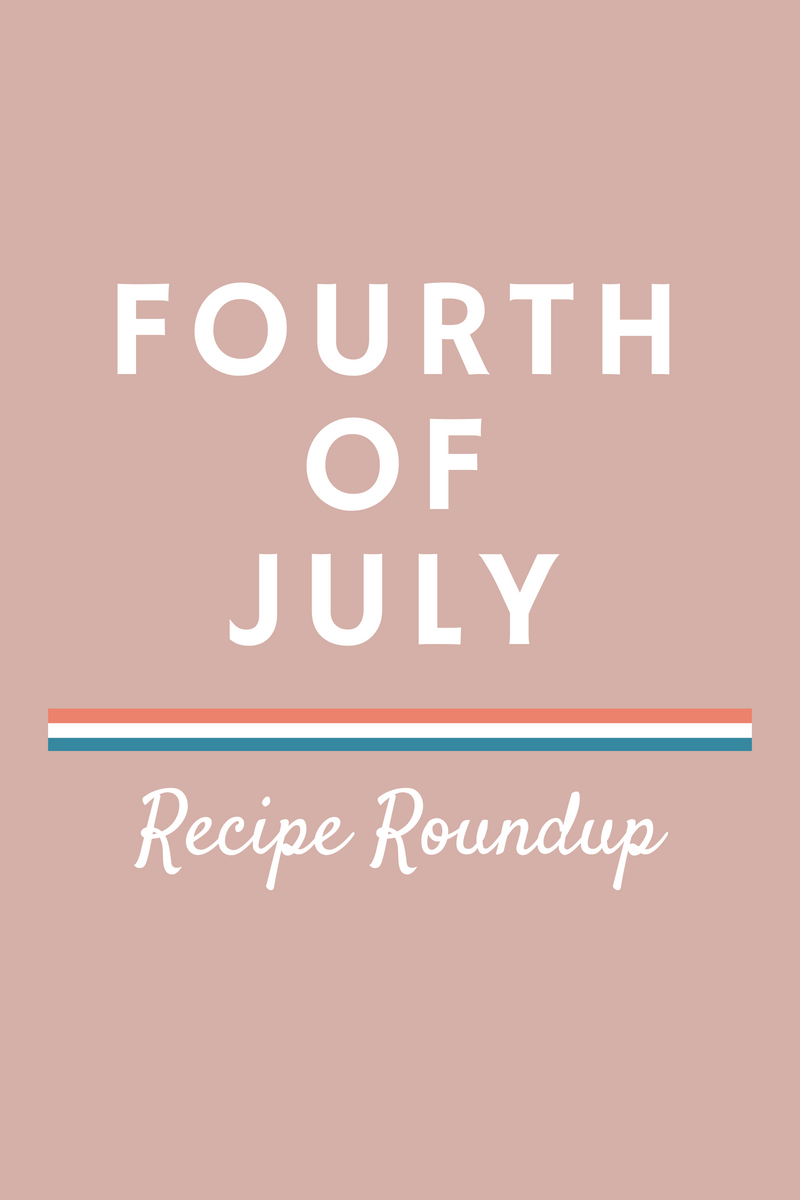 My Fourth of July recipe roundup is all you need to throw a killer summer party to celebrate our Independence Day! It's filled with cocktails, apps, sides, main dishes, and desserts, and a whole lot of other fun necessities!
