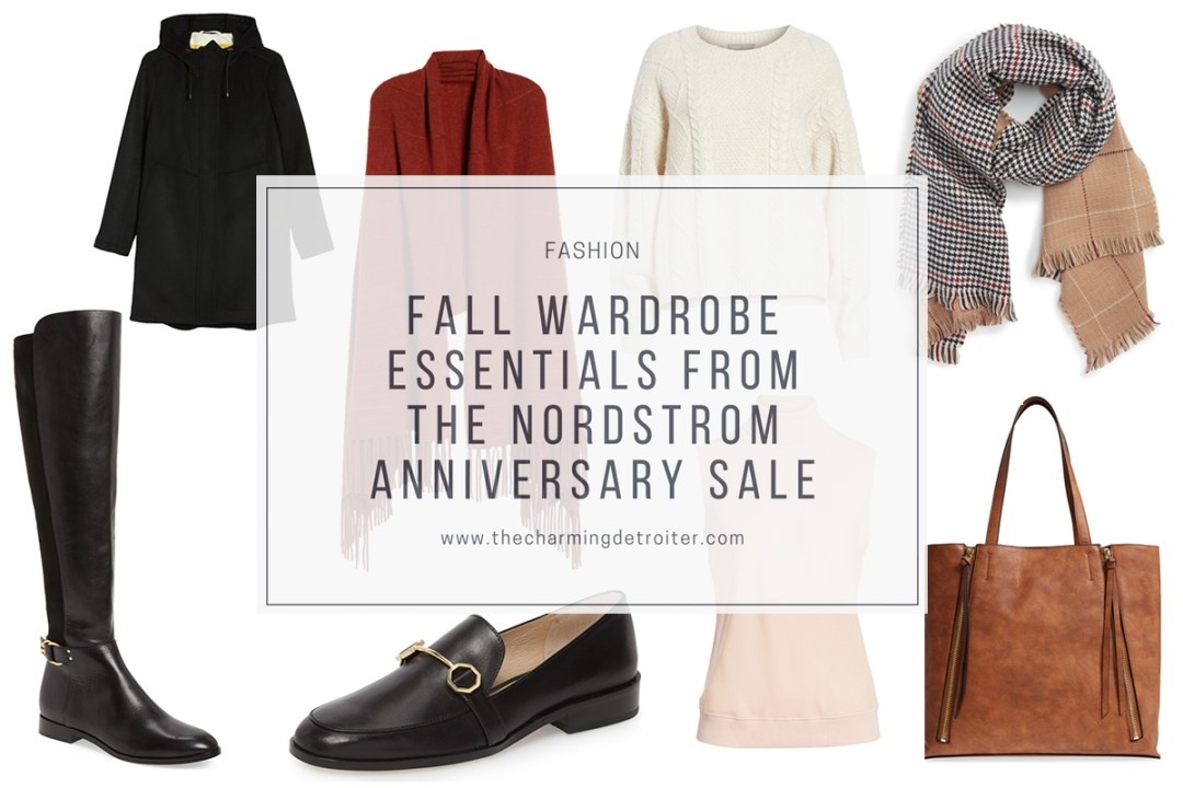 The Nordstrom Anniversary Sale is in full swing, and it's the perfect time stock up on these fall wardrobe essentials!