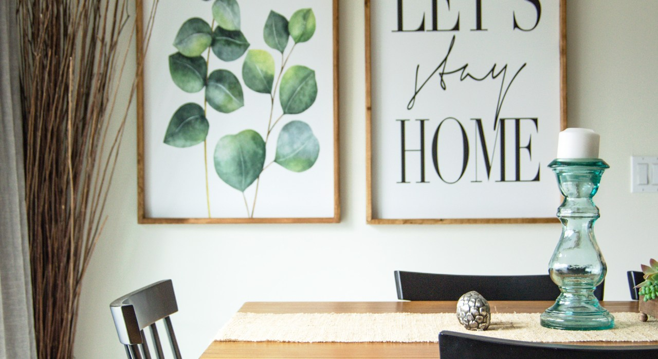 Check out my tips for spring transitional home decor on the blog, and help transition your home out of those chilly winter months into a beautiful spring!