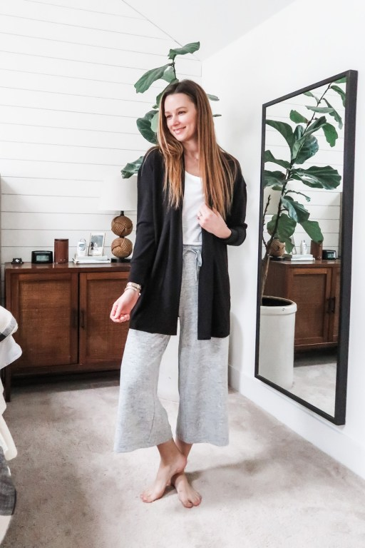 Today's post is all about Amazon loungewear, and I'm sharing my top favorite outfits for casual yet chic work-from-home looks!