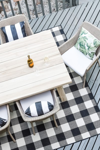 We finally finished (almost) our new modern farmhouse outdoor dining space! Come check it out on the blog today!
