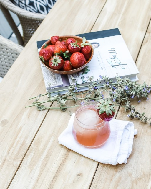 This simple strawberry bourbon lemonade is sweetened with a delicious homemade lavender simple syrup for a classy cocktail that screams summer!