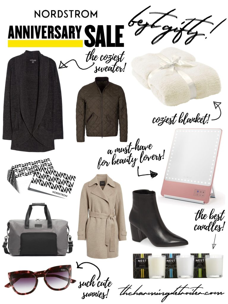 Today I'm sharing my absolute favorite gift ideas from this years 2020 Nordstrom Anniversary Sale! Everything from gifts for the fashionista to the homebody: you'll find them here!