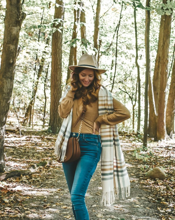 Today I'm sharing the perfect wrap bodysuit sweater! I love this piece for layering for the fall and winter because it is so cozy, soft, and versatile!
