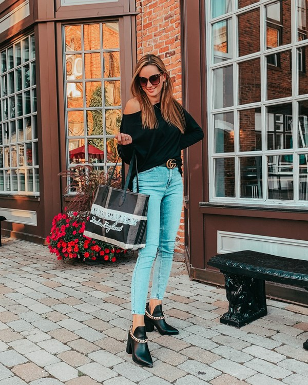 I'm so ready for the fall, you guys! Sharing this casual date night look today on the blog that is perfect for transitioning to cooler days!