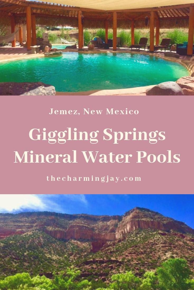 Giggling Springs Mineral Water Pools, Jemez, NM
