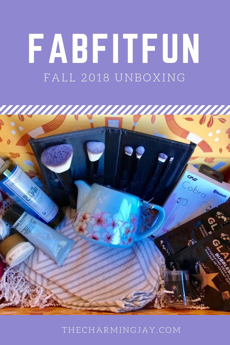 FabFitFun Fall 2018 Unboxing