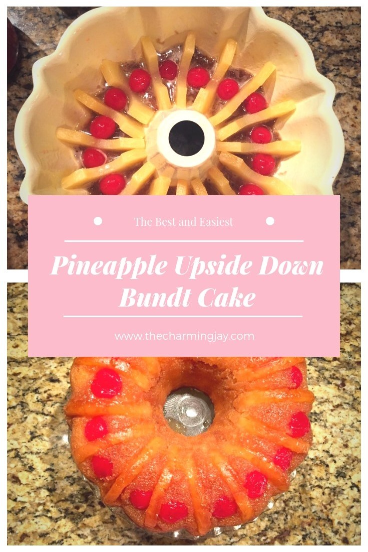 Pineapple Upside Down Bundt Cake